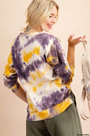 Feeling Terrific in Tie Dye Pullover - LMTD