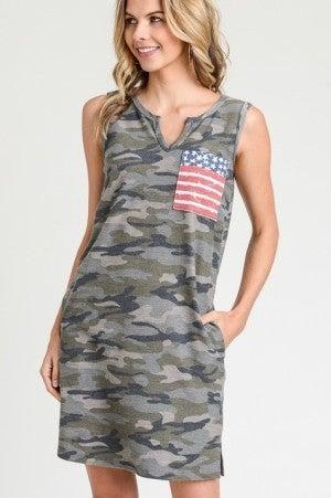 Show Your Pride Tank Dress - BEST SELLER BACK!!