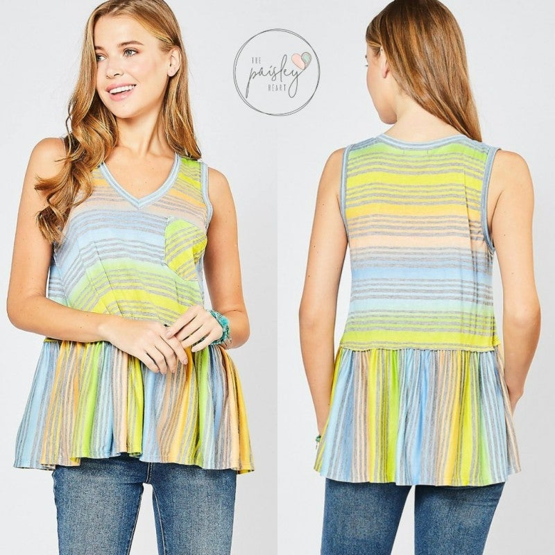 Sunshine & Stripes - NEW COLOR!
