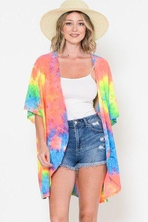 Forever Summer Tie Dye Kimono - LMTD STOCK!