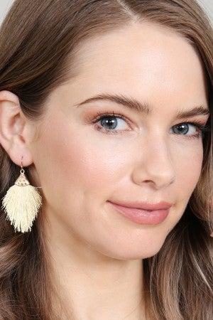 Dainty Tassel Drop Earrings