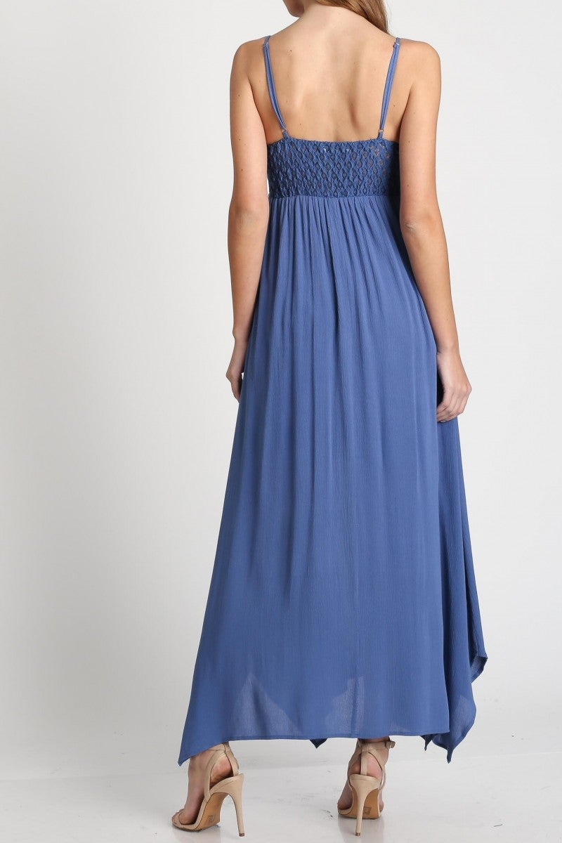 Summer Romance Strappy Maxi Dress
