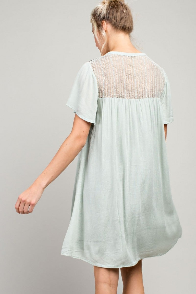 Mint for Spring Dress