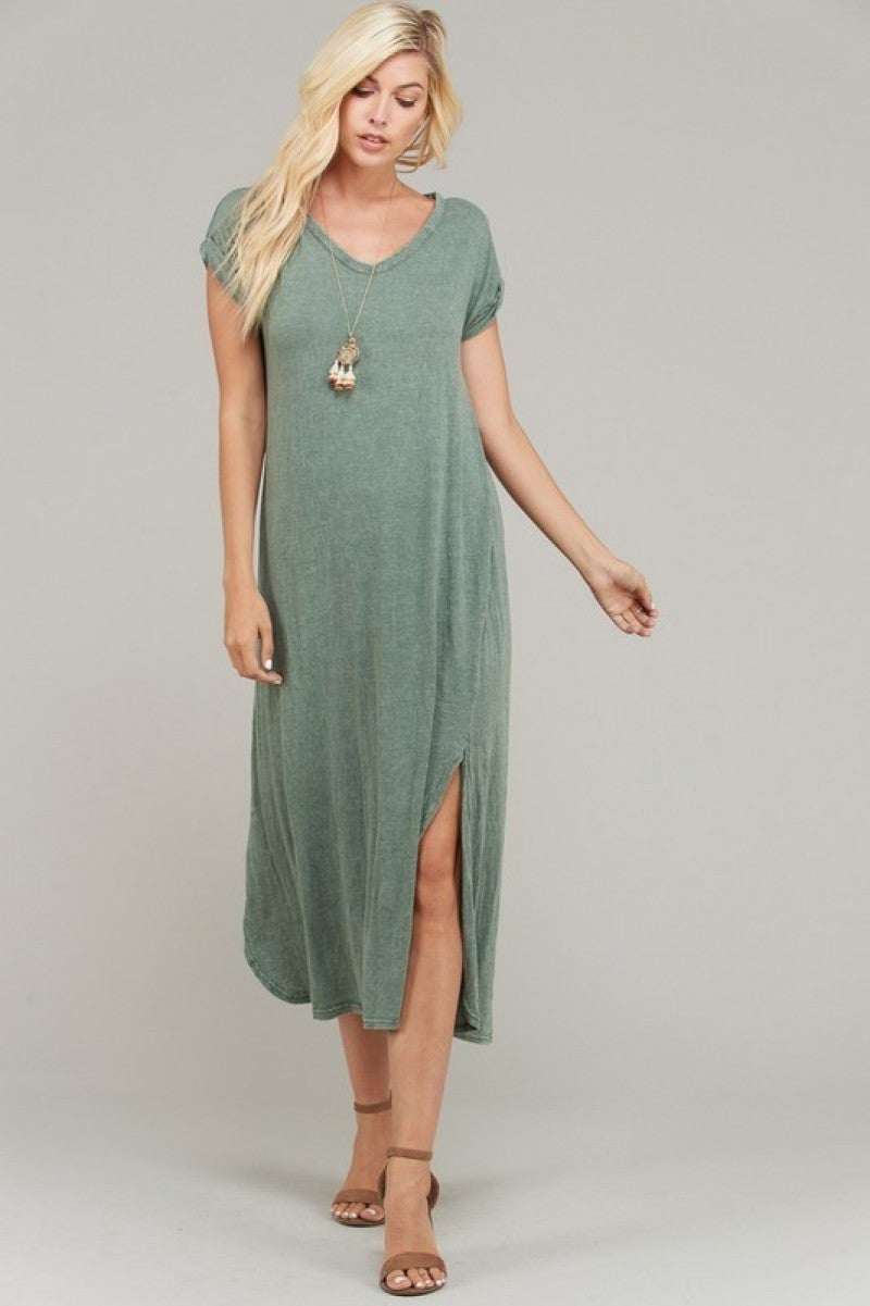 The Rica Maxi in Green