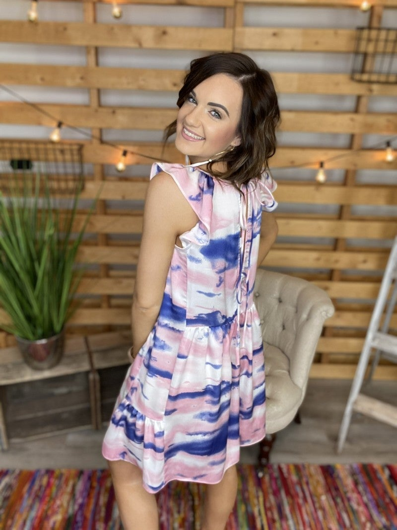 The Pink Patio Babydoll Dress