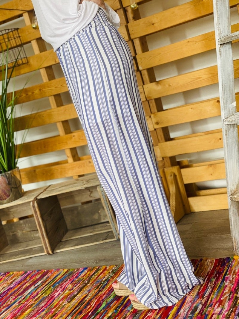 The Blue Striped Pants