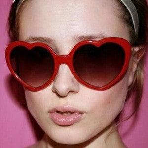 Red Heart Sunglasses