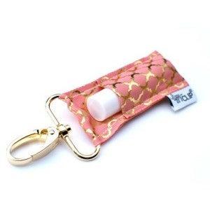 LippyClip Lip Balm Holder - Pink Quatrefoil