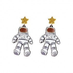 Giant Leap for Mankind - Acrylic Earrings
