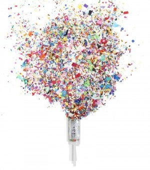 Birthday Hooray - Push Pop Confetti