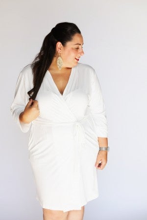 Solid White - Katie's Essential Robe
