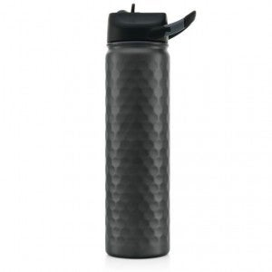 Hammered Gunmetal Sports Bottle - SIC Cup