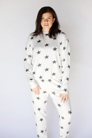 White Stars - Super Soft Lounge Set