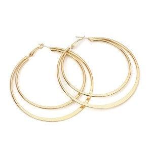 Gold Lion - Earrings