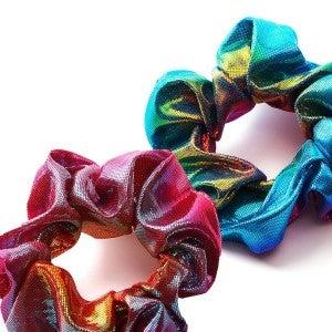 Mermaid Metallic Scrunchie