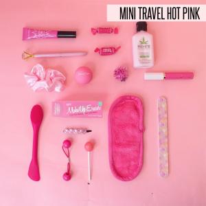 The MINI - ORIGINAL MakeUp Eraser - Mini Travel Hot Pink