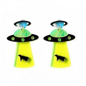 The Truth Is Out There - Acrylic Earrings
