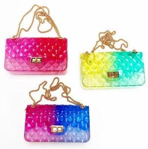 Ombré Jelly Handbag
