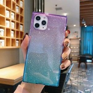 Ombré Mermaid Glitter iPhone Case