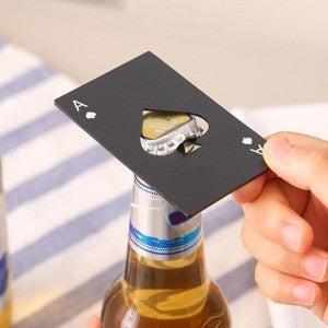 Steel Credit Card Sized Bottle Opener