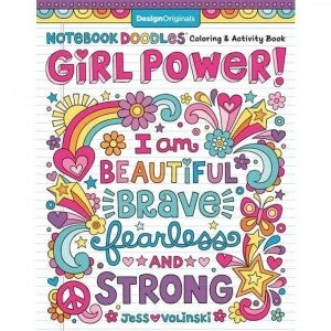Girl Power - Coloring & Activity Book
