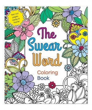 The Swear Word - Adult Coloring Book