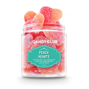 Katie's Favorite! Peachy Gummy Hearts - Candy Club