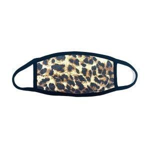 Leopard Child PPE (non-medical) Face Mask *Final Sale*