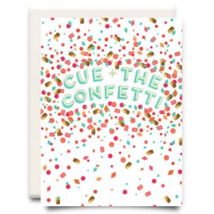 Cue the Confetti Card