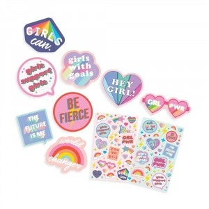 Girl Power Scented Sticker Pack