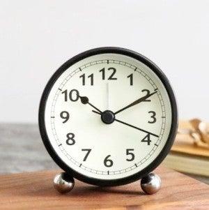 Retro Round Alarm Clock