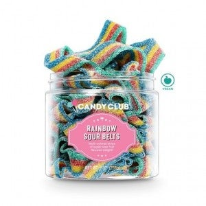 Rainbow Sour Belts - Candy Club