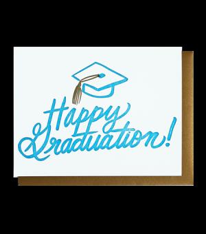 Happy Graduation - Letterpress Card