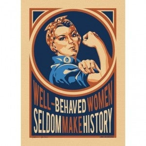 Well-Behaved Women - Stickers & Postcards