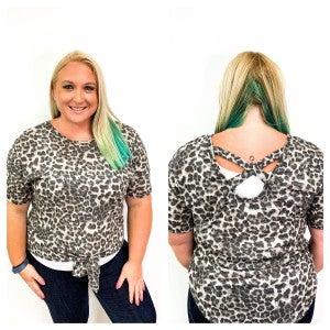 Plus Size Leopard Top
