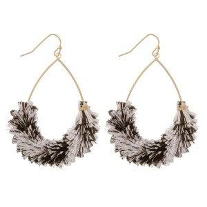 Layered Tassel Dangle Earrings