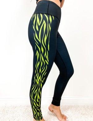 Neon Zebra Leggings