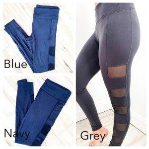 Mesh Side Legging