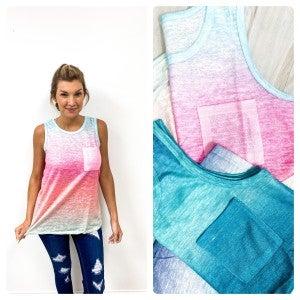 Knit Summery Muscle Tank
