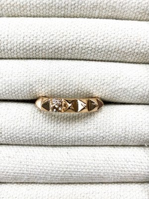 Spiked Gold Ring