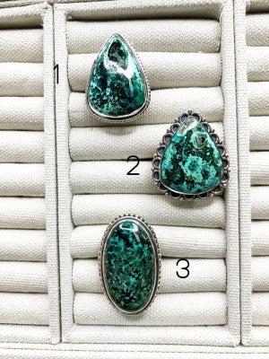 Small Azurite Ring