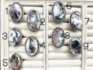 Dandrite Agate Ring