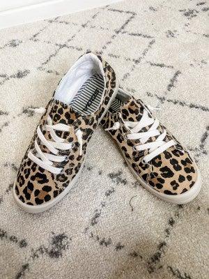 {Leopard Slip On}