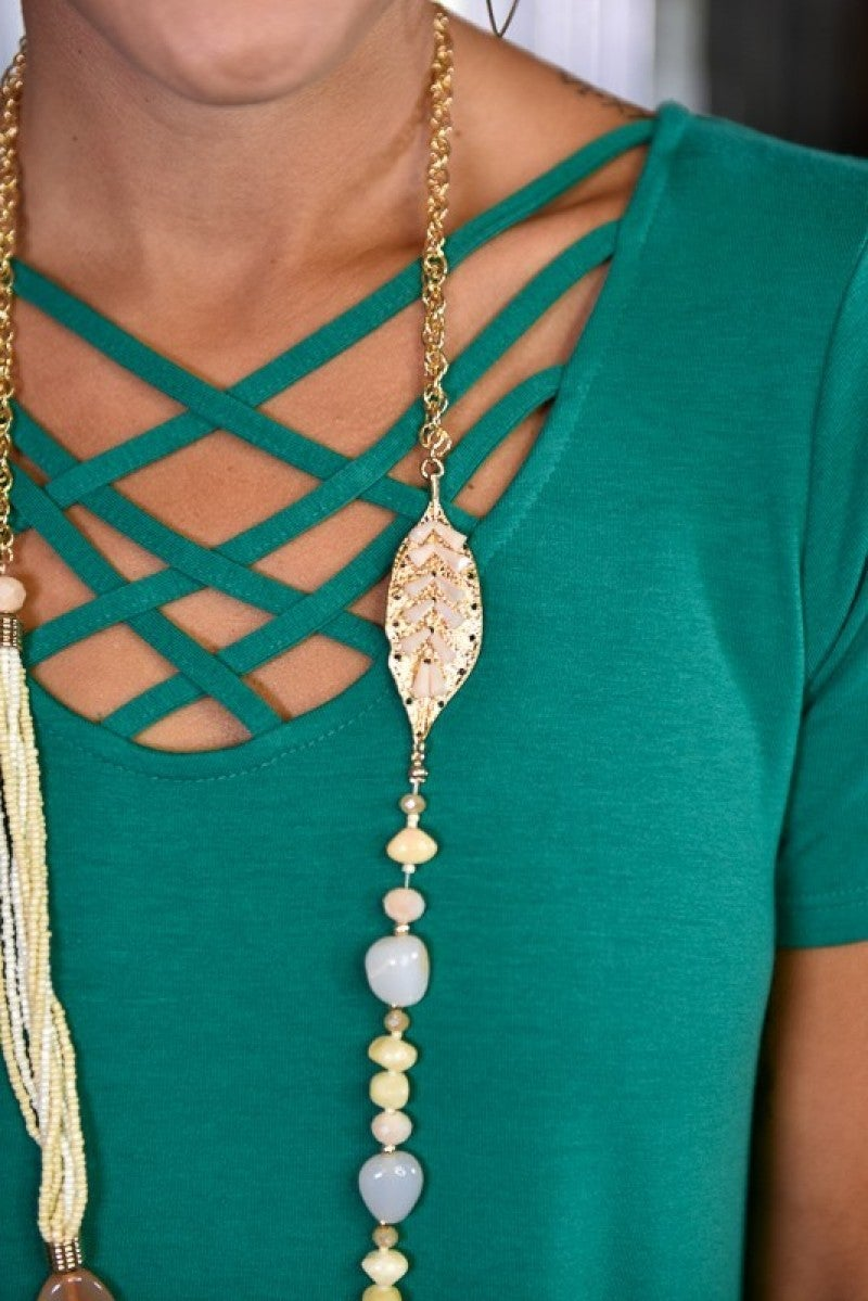 Ivory Liz Necklace
