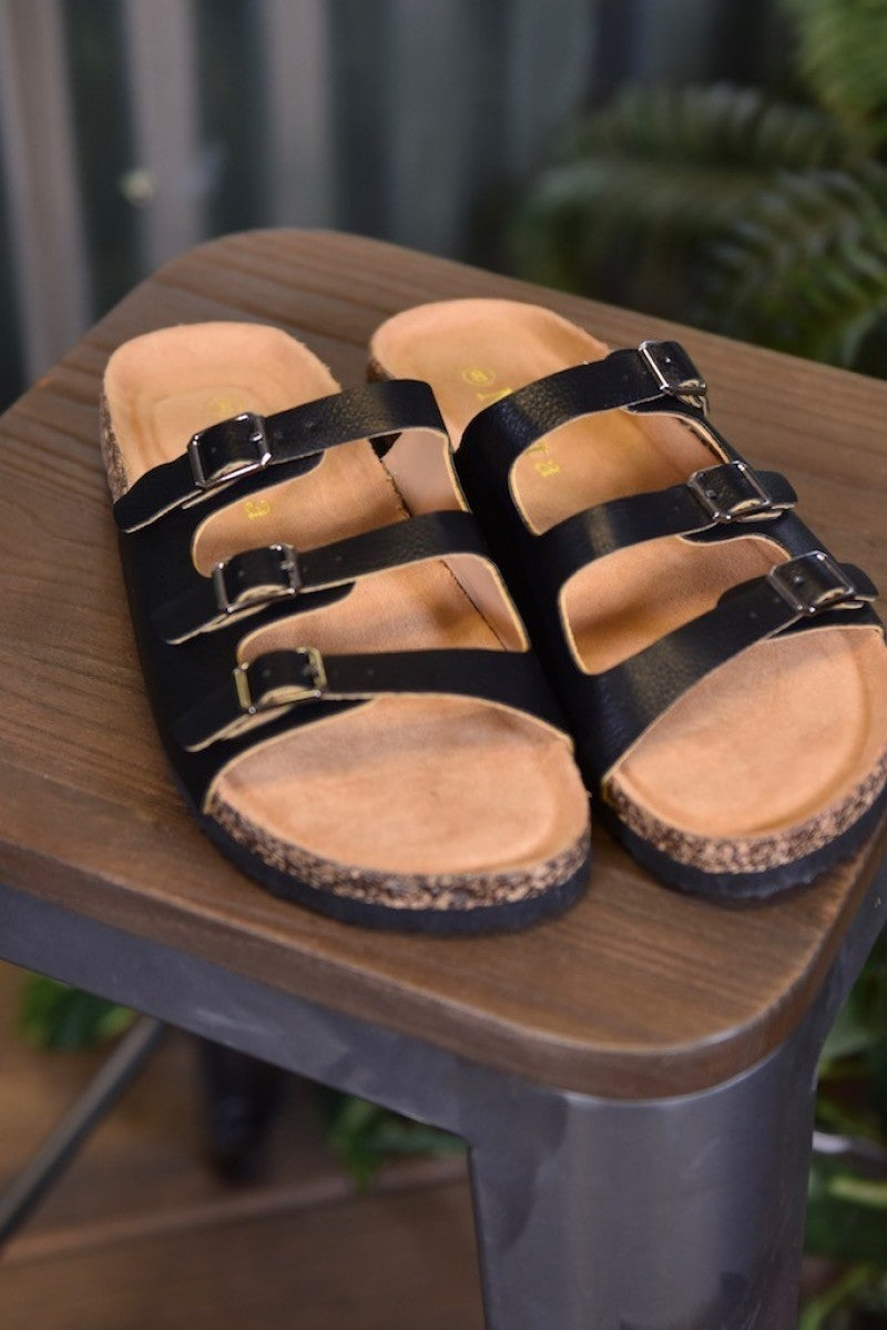 CLEARANCE Black Broadwalk 5 Sandals