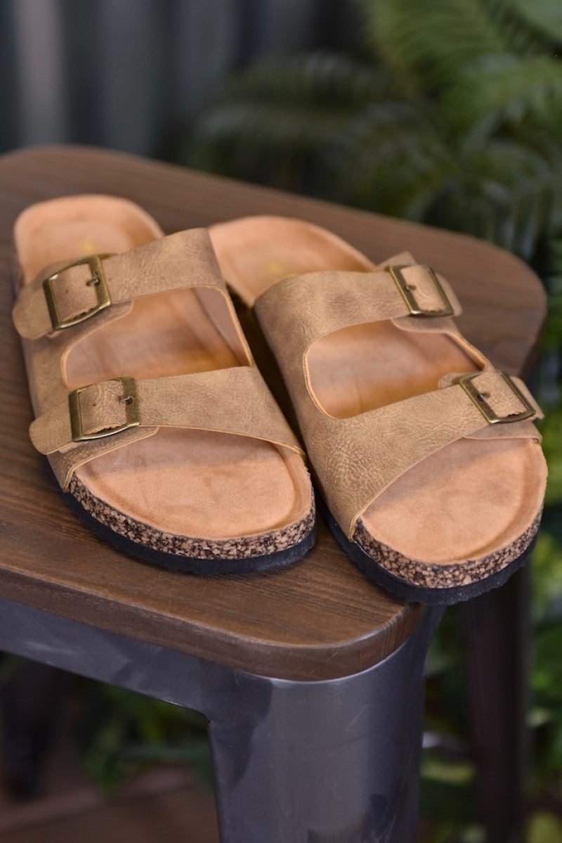 CLEARANCE Taupe Broadwalk 4 Sandals