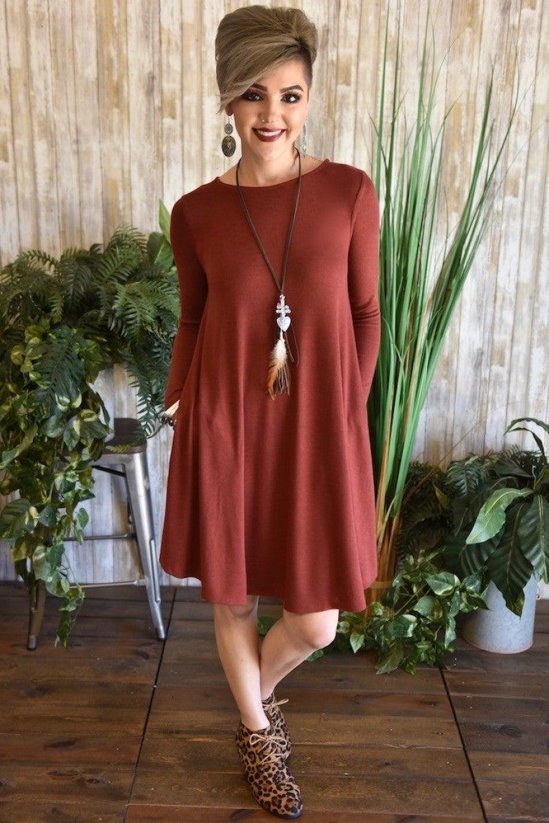 76335aeed1d Brick Pocket Sweater Dress ...