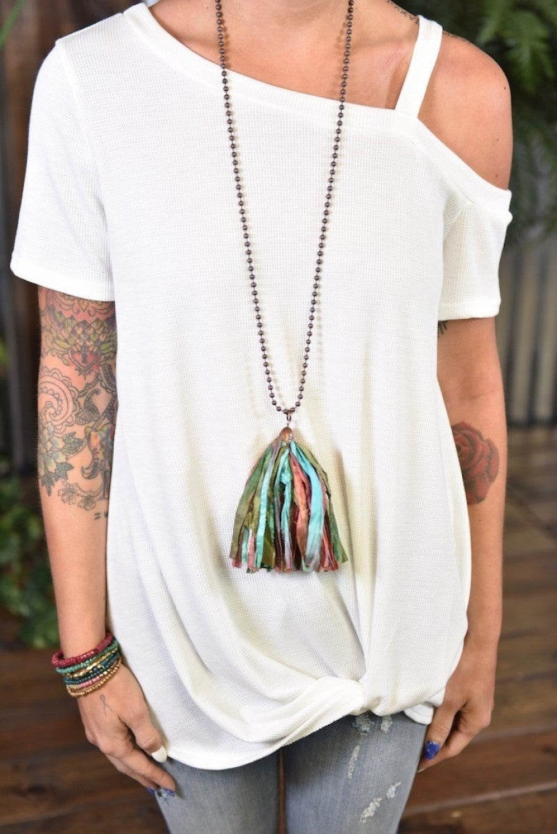 Atlantis Tassel Necklace