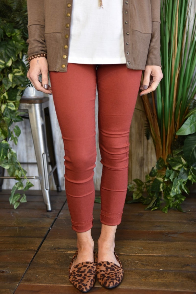 CLEARANCE Cotton Blend Jeggings