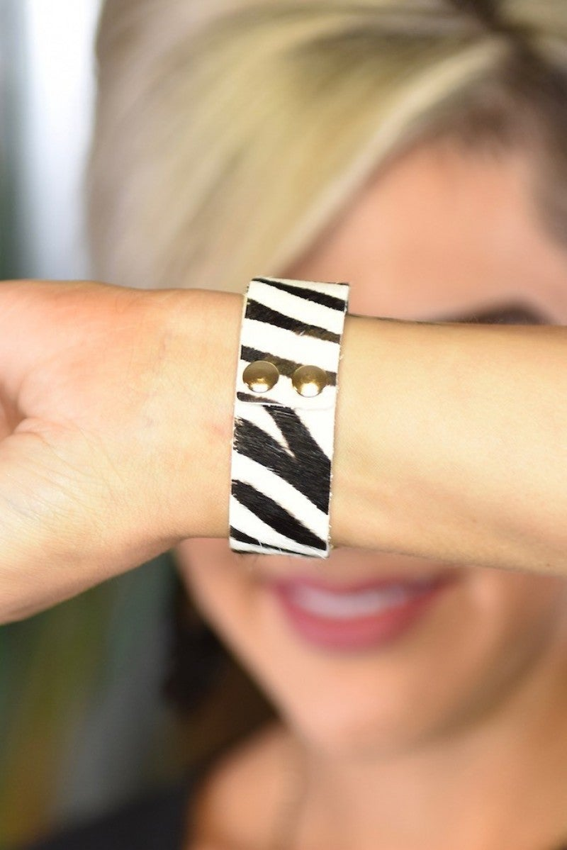 Zebra Wildest Dreams Smart Watch Band